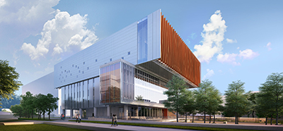 New Student Centre - Rendering