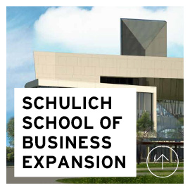 York University Schulich School of Business expansion